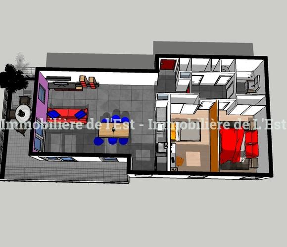 Vente Appartement 3 pièces 77m² Albertville (73200) - photo